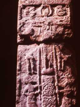 Anglo-Saxon cross-shaft from Alnmouth. Copyright Reserved: Museum of Antiquities, Newcastle upon Tyne.
