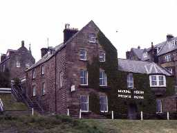 Marine House Private Hotel, Alnmouth.