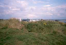 Remains of St Ebba's Chapel, Beadnell. Photo by Northumberland County Council.
