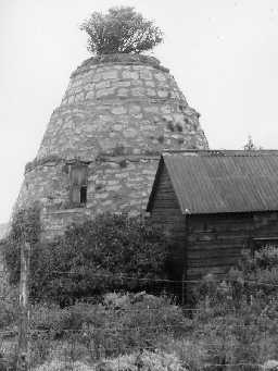Dovecote behind Sunny Brae, Embleton. Photo Northumberland County Council, 1970.