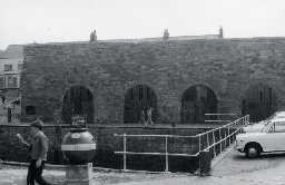 Lime kilns at Seahouses Harbour. 