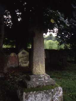 Medieval cross in Kirkhaugh Churchyard