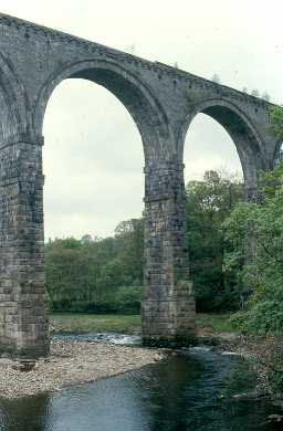 Lambley Viaduct. Photo by Northumberland County Council.