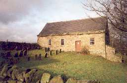 Friends' Meeting House at Coanwood. Photo by Northumberland County Council.