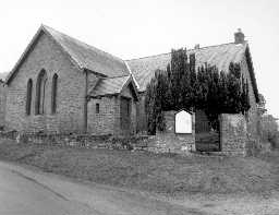 Slaggyford Wesleyan Methodist Church. Photo by Peter Ryder.