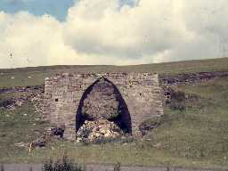 Walltown Quarry lime kiln.