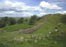 Hadrian's Wall, near Walltown (Copyright © Don Brownlow)