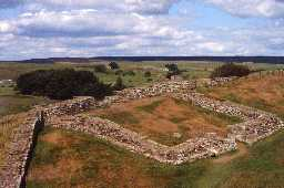 Milecastle 42 on Hadrian's Wall. Photo © Northumberland County Council.
