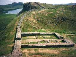 Milecastle 39, Hadrian's Wall. Photo by Northumberland County Council.