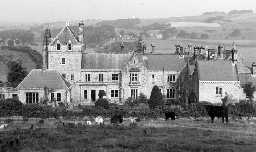 Unthank Hall. Photo by Northumberland County Council, 1963.