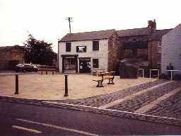 Haltwhistle Market Place. Photo by Northumberland County Council.