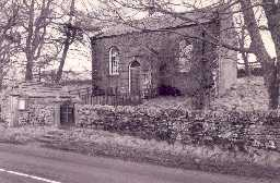 Whiteley Shield Methodist Chapel at Carrshield. Photo by Peter Ryder.