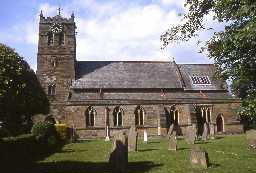 St Cuthbert's Church, Allendale.