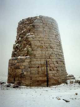 Allen Smelt Mill chimney. Photo by Northumberland County Council.