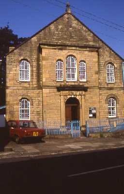 Trinity Methodist Chapel, Allendale. Photo by Peter Ryder.