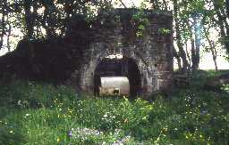 Wheel pit at Holmslinn Mine.
