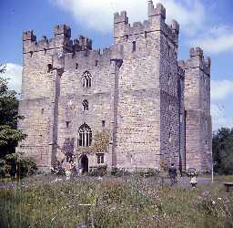Langley Castle, Haydon.  Photo by Harry Rowland, 1967.