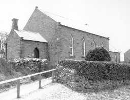 Langley Primitive Methodist Chapel. Photo by Peter Ryder.