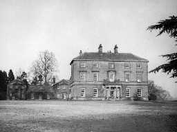 Nunwick Hall. Photo by Northumberland County Council, 1956.