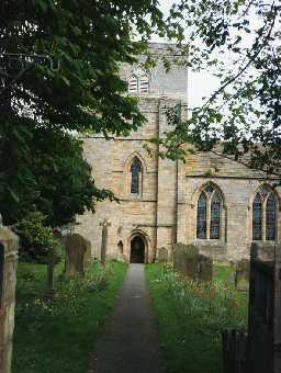 Church of St Mary, Blanchland. Photo Northumberland County Council.