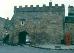 Blanchland Abbey gatehouse. Photo by Northumberland County Council.