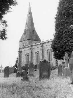 Church of St John of Beverley, Acomb. Photo Northumberland County Council, 1956.