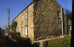 St Oswald's Cottages, Wall. Photo by Peter Ryder.