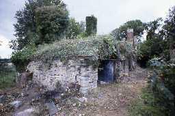 Newcastle horizontal kilns at Corbridge Pottery.