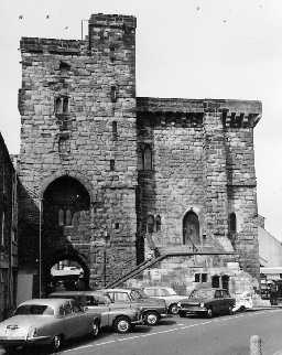 Hexham Moot Hall. Photo Northumberland County Council, 1971.