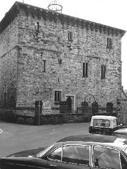 Old Gaol, Hexham. Photo Northumberland County Council, 1971.