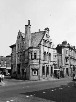 Midland Bank, Hexham. Photo by Northumberland County Council, 1971.