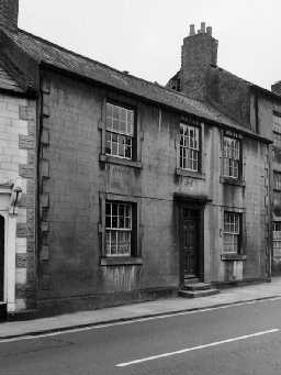 No.12 Hencotes, Hexham. Photo by Northumberland County Council, 1971.