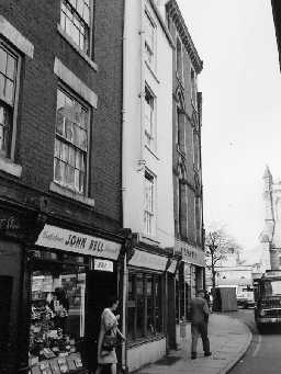 No.15 Market Place, Hexham. Photo Northumberland County Council, 1971.