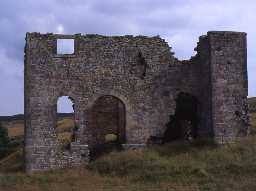 Engine house at Ridsdale Ironworks. Photo by Northumberland County Council, 1994.