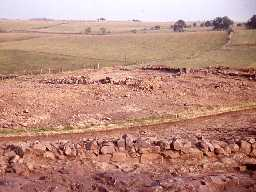 Excavations at West Whelpington.