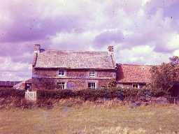 The Haining, Elsdon. Photo by Harry Rowland, 1960s.