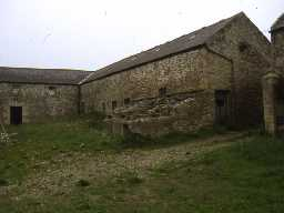 Farm buildings at High Waskerley.