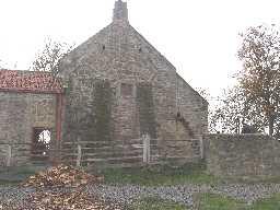 Pele Tower on East Return of Pockerley Farmhouse 2007
