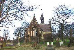 East Mortuary Chapel of Benfieldside Cemetery 2007