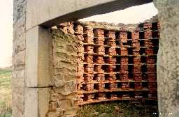 Dovecot showing nesting boxes 1995