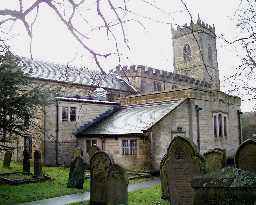 Church of All Saints, Lanchester 2003