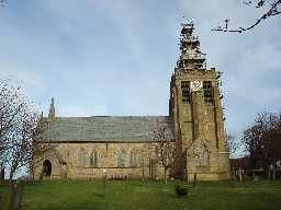 St Andrews Church, Church Bank © DCC 04.11.2009