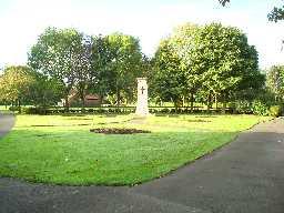 War Memorial in the Park @ Annfield Plain © DCC 04.11.2009