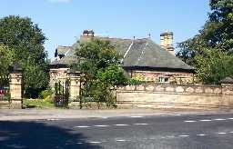 The Lodge, West of Church of St Barnabas 2007