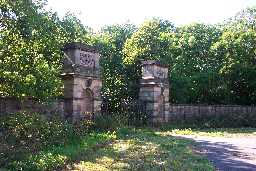 Piers, Walls and Gates, 60m West of Harraton Lodge 2005