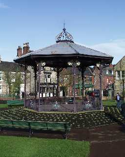 Bandstand in Town Area, Opposite Ravensworth Tce 2003