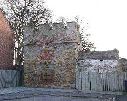 West Mural Tower & West Walls, Auckland Castle 2006
