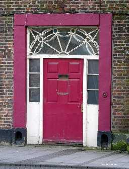 5 Market Place, - door detail 2006