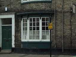 7 Market Place (window detail, 2004) 2004