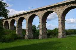 Newton Cap Railway Viaduct over River Wear 2006